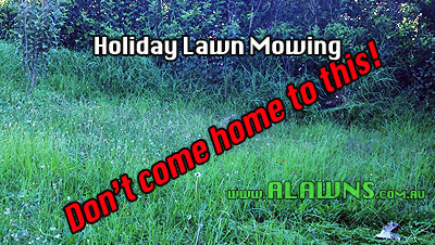 Holiday lawn mowing in baulkham hills parramatta for Local lawn mowing services